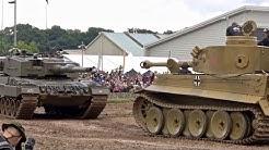 Tiger 1 Tank meets Leopard 2  - Tankfest 2016