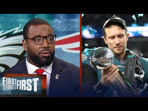 Chris Canty on Nick Foles' journey from backup QB to Super Bowl LII MVP | FIRST THINGS FIRST