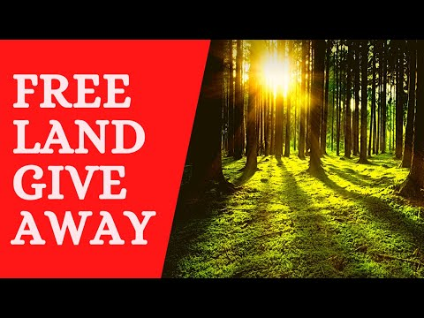 Free Land Giveaway #5 Ending Oct 1st, 2020