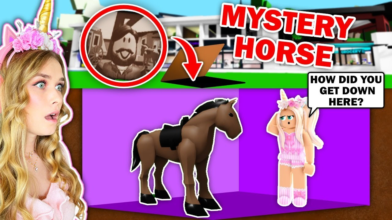 *SECRET LOCATION* Under The MAP  EXPOSES The Horse Of The Man In The Picture In Brookhaven! (Roblox)