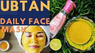 UBTAN Daily FACE MASK for fair and glowing skin