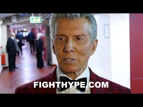 MICHAEL BUFFER REACTS TO ANTHONY JOSHUA'S WIN OVER PARKER:
