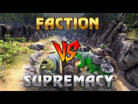 FACTION MEAT RUN SUPREMACY | XBOX ONE OFFICIAL PVP | ARK SURVIVAL EVOLVED