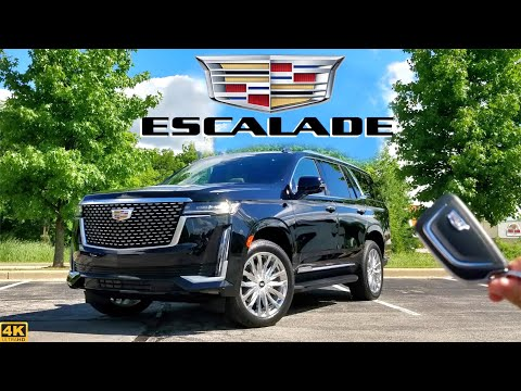 2021 Cadillac Escalade // HANDS-DOWN The BEST Escalade Ever Built! (in-depth Review)