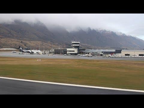 BEAUTIFUL LANDING | Jetstar JQ295 from Auckland to Queenstown (2017.06.22)