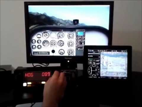 air nav pro 5 route module instruments efis 3d youtube rh youtube com Airline Navigation Map Air Navigation History