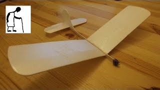 Bargain Store Project #34 Styrofoam Plate Aeroplane Glider