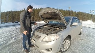 Toyota Corolla 2008 1.6 МКПП отзывы, динамика, подвеска.