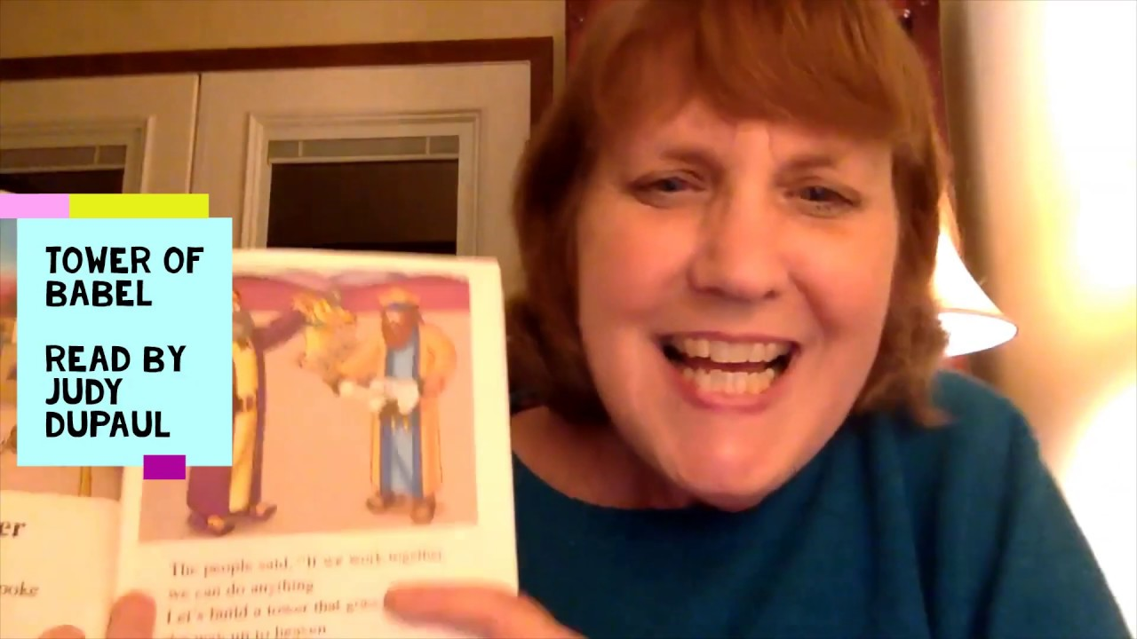 """The Beginner's Bible- """"The Tall Tower""""- Read by Judy DuPaul"""