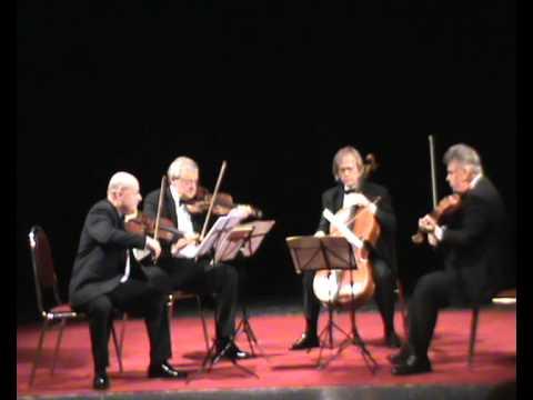 Download Schumann Quartet in F major, op. 41 no. 2  III.  Scherzo: Presto.  Stamic Quartet live at Levoca.