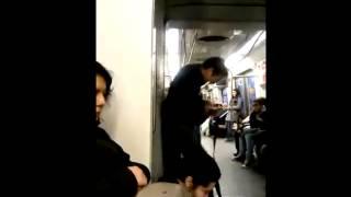 Head Banging Crazy Mariachi On Train