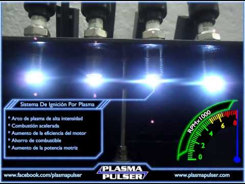 Iridium Spark Plugs >> Plasma Pulser: Banco de Pruebas y Demostraciones - YouTube