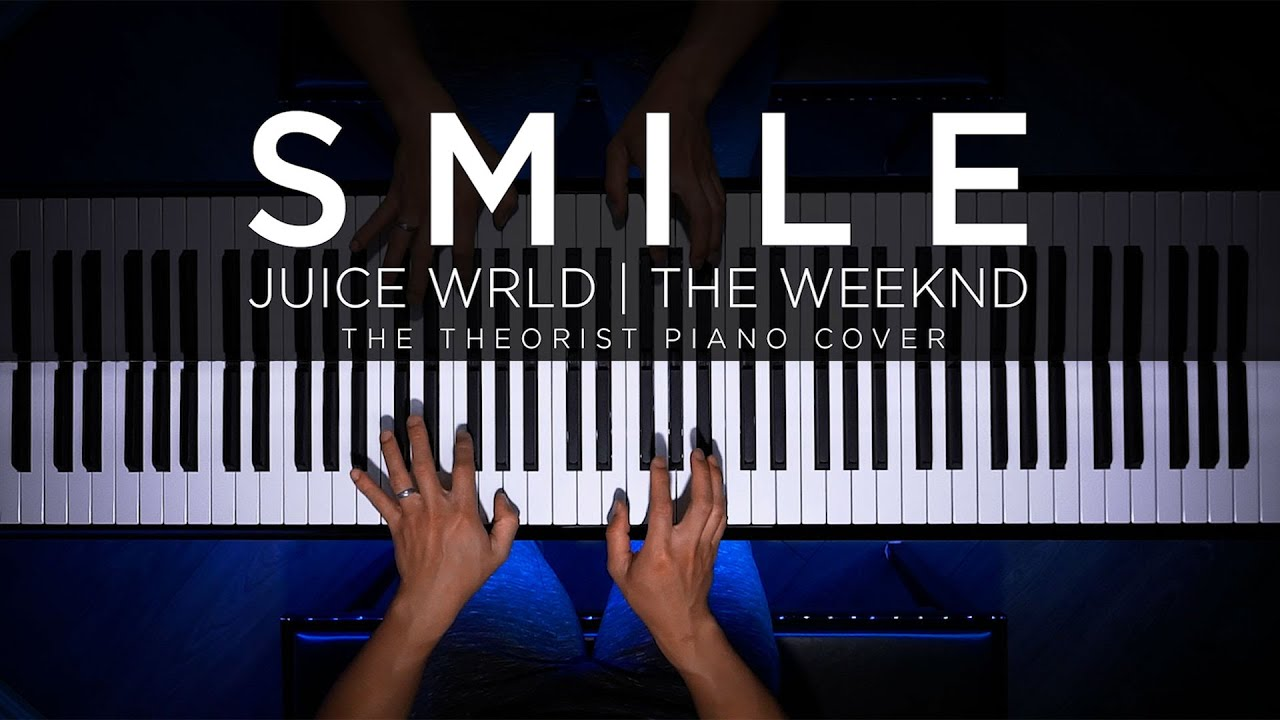 Juice WRLD & The Weeknd - Smile | The Theorist Piano Cover