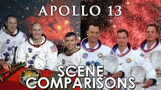 Apollo 13 (1995) - scene comparisons