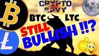 🚀BITCOIN and LITECOIN still BULLISH!?🚀 litecoin bitcoin news, price prediction, trading