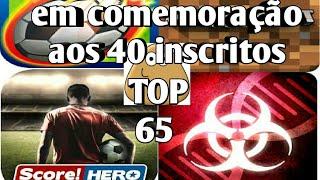 Top 65 jogos  que podem ser hackeados pelo Lucky Patcher