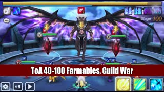 seanb summoners war toa 40 to 100 with farmables simple guild war