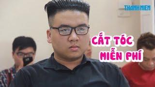 Đổ xô đi cắt tóc kiểu chủ tịch Kim Jong-un miễn phí ở Hà Nội