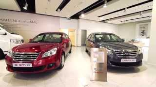 A Regular Day at Chery- Al Habtoor Motors showroom