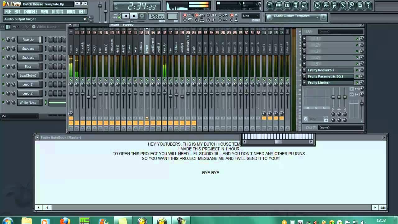 Скачать звуки для fl studio 10