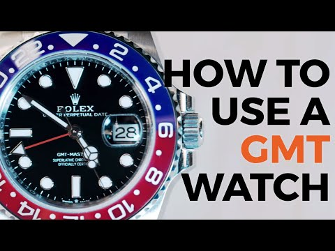 How To Use A GMT Watch Function | Rolex GMT-Master II Watch