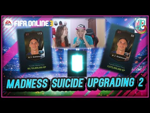 ~+7 WorldBest Ibra???~ Mindless Suicide Upgrading 2 - FIFA ONLINE 3