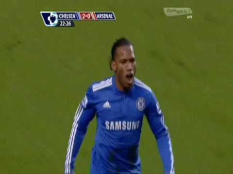 Didier Drogba Goal Vs Arsenal