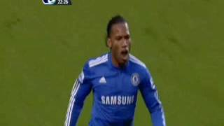 Didier Drogba Goal Vs Arsenal