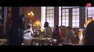 مشهد كوميدي للزعيم عادل إمام بعد إجباره على لبس الجلبية البيضاء بعد قدوم ابن اخت زوجته معتز