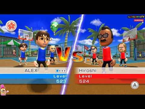 Wii Sports Resort (Wii 스포츠리조트 농구, Basketball play ) for Wii #052