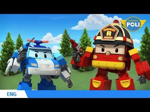 Robocar POLI Season 1 | Ep. 04 NEW FRIENDS | Robocar POLI TV