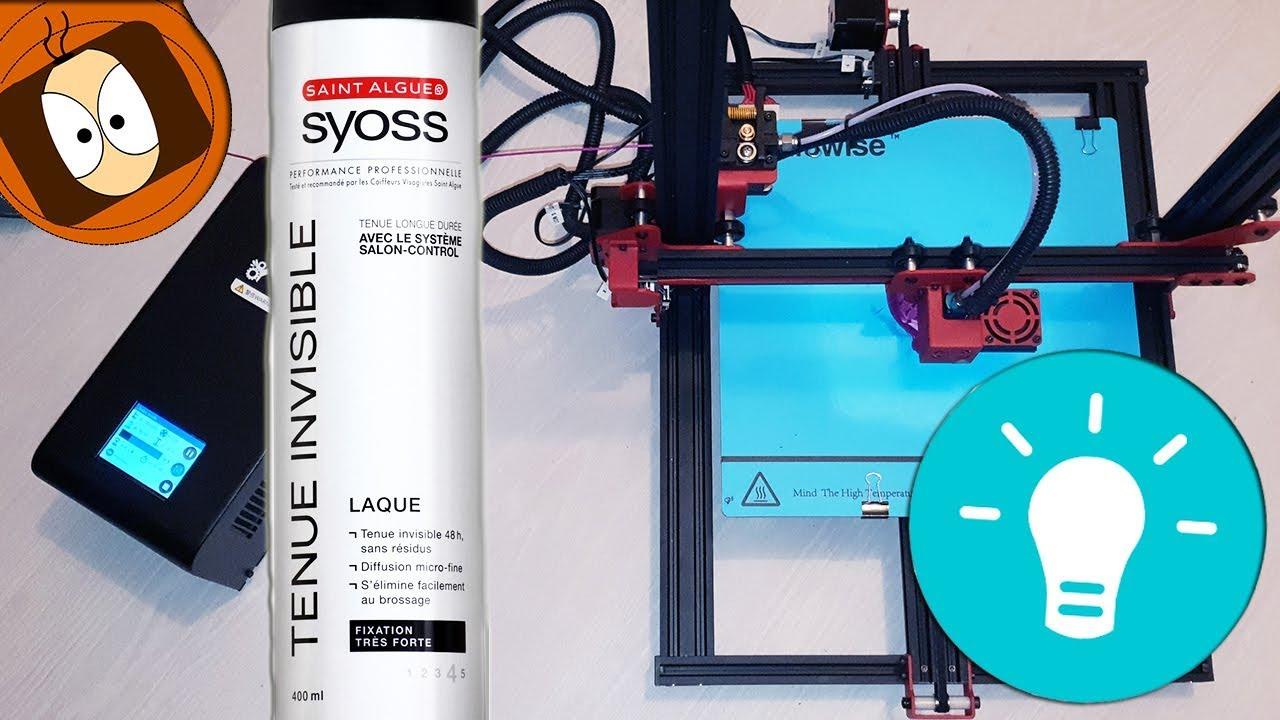 astuce laque imprimante 3d parfait
