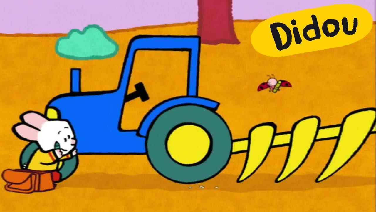 Tracteur didou dessine moi un tracteur dessins anim s - Cars et les tracteurs ...