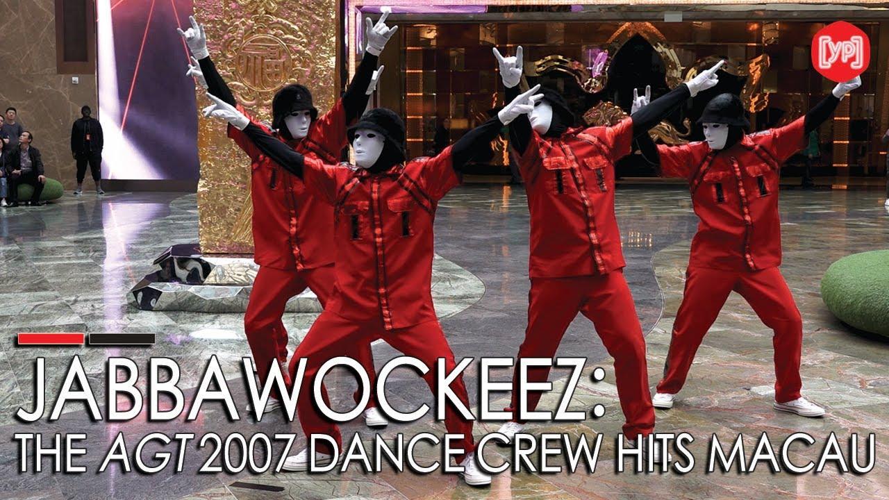 America's Got Talent dance crew Jabbawockeez show us their moves in
