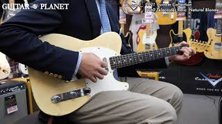 ~2021 Custom Collection~ 1960 Telecaster Relic -Natural Blonde-