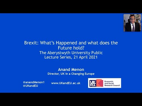 Public Lecture | Brexit: What's happened and what does the f
