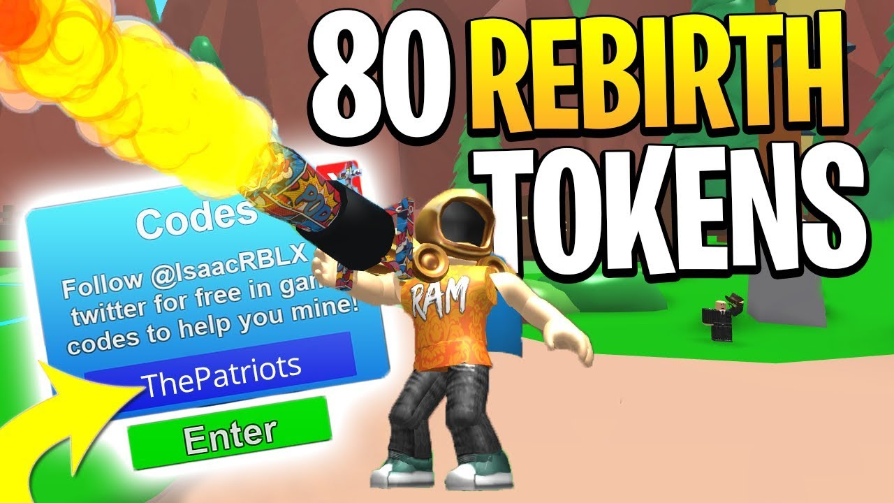 NEW ROBLOX MINING SIMULATOR CODES (GIVES YOU 80 TOKENS)