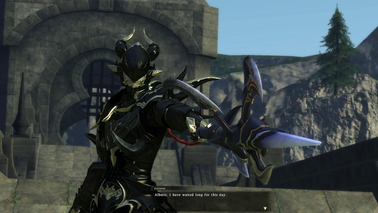Level 50 Dragoon Job Quest | Estinien Boss Fight | PS3 ...