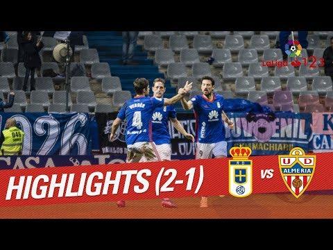 Resumen de Real Oviedo vs UD Almería (2-1)