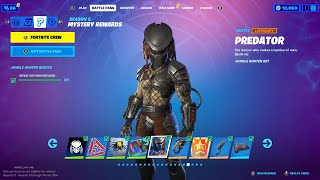 PREDATOR SKIN in FORTNITE UPDATE! (NEW MYTHIC, PREDATOR BOSS & MORE)