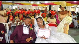 Nathaniel and Idaraobong ...exchange of Marriage Rings