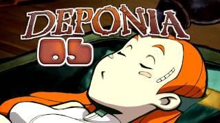 Let's Play Deponia #005 [Deutsch] [HD+] - Eine süße Prinzessin... und Goal!
