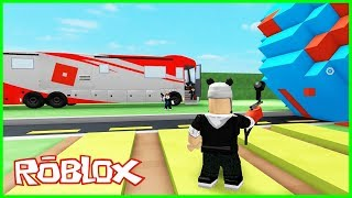 The adventure bus takes us to great places! Roblox Trip with Bus Panda!