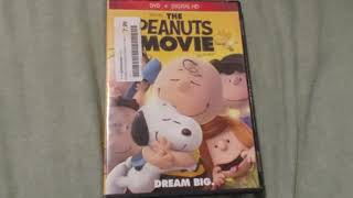 THE PEANUTS MOVIE DVD Overview!
