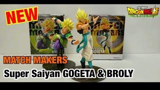 *新出*【開箱】龍珠超 Match Makers 布洛尼 x 格比達 | Dragon Ball Match Makers Super Broly x Gogeta