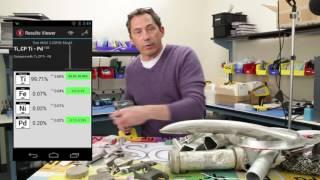 Спектрометр SciAps X   обзор анализатора металлов
