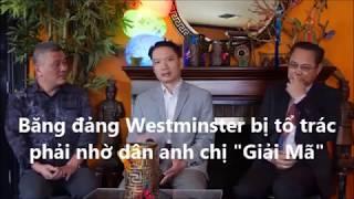 Thị trưởng TP  Westminster Trí Tạ thỉnh ý đàn anh  quân sư Trần Nhật Phong