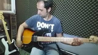 SquierVintage Modified Precision Bass TB review part a
