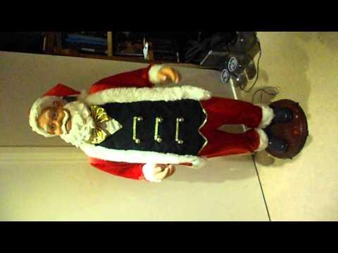 5ft animated singing santa for ebay