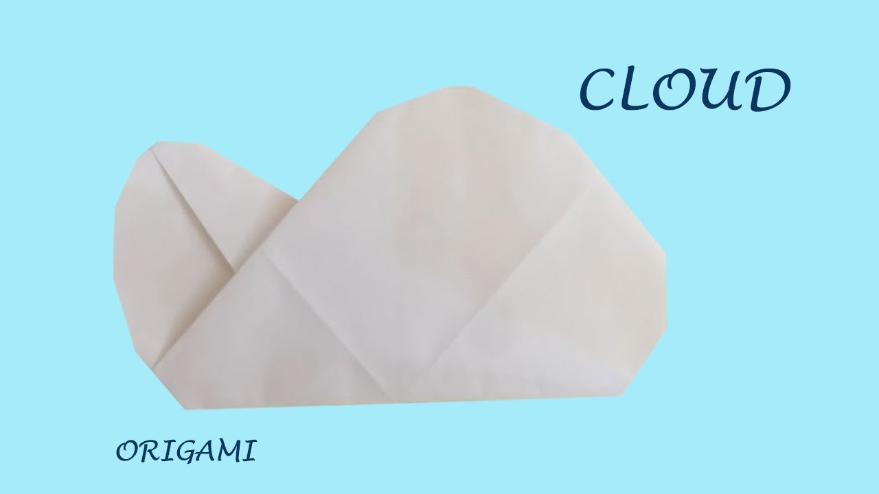cloud extremely easy origami